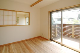 東京の無垢の家 k様邸