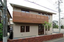 東京の無垢の家 m様邸