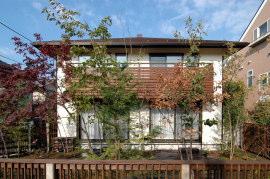 東京の無垢の家 S邸