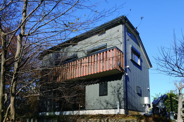 シンプルスタイル無垢の家