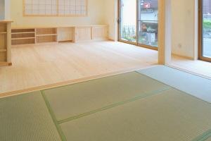 熊本県産の「い草」を使用した畳