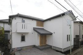 無垢材で造る集合住宅
