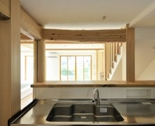 【左右分離型二世帯住宅】漆喰の無垢の家 K様邸