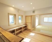 生活動線とエコ重視の無垢の家 K様邸 – 長期優良住宅・BELS☆☆☆☆☆